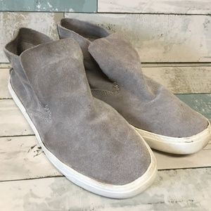 Dolce vita suede sneakers size 9 1/2